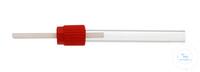 14Artikelen als: Screw cap GL 14, inner Ø 1,6 mm for tube feed-through, of PBT Screw cap for...