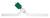Hochvakuum-Durchgangsventil, 0-8 mm, mit Glas-Spindel Hochvakuum-Durchgangsventil, mit...