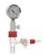 Belüftungsventil/Exsikkatoren Version 1 mit Vakuummanometer Kern NS 24/29 Belüftungsventil für...