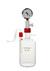 Woulff'sche Flasche nach Rettberg 1000 ml Mittelhals GL 32, Seitenhals GL 18 Kunststoffüberzug...