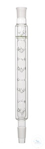 Vigreux column, cone NS 14,5/23 and socket NS 14,5/23, vacuum-jacket, fill height 200 mm Vigreux...
