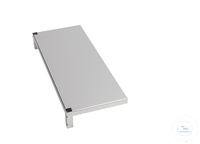 Sheet tablar, 550 x 300 mm, with 2 shots, stainless steel Sheet tablar, 550 x 300 mm, with 2...