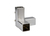 Square connector, stainless steel, 3-way fitting Square connector, stainless steel 18/8, 3-way...