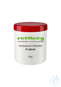 High-vacuum teflon grease TF 100 HV High-vacuum teflon grease TF 100 HV
