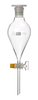 Separatory funnel 1000 ml, con., grad. NS 29/32 PE-stopper, glass plug NS 18,8 ISO 4800, made of...