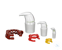 7artículos como: Pouring spout, cone NS 12,5/21 with Keck clamp, for flasks + bottles Pouring...