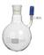 Stickstoff-Schlenkkolben 500 ml, Hülse NS 14,5/23, seitl. PTFE-Ventil 0-3mm...