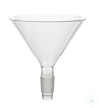 Einfülltrichter, Kern NS 14,5/23, Ø 70 mm, Borosilikatglas 3.3