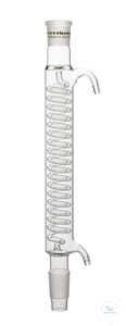 Graham condenser, cone NS 29/32 and socket NS 29/32, length 250 mm Graham condenser, cone NS...