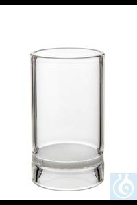 Rohfasertiegel, 30 ml, Por. 2 Rohfasertiegel, 30 ml, mit speziell gehärteter Filterplatte Por. 2,...