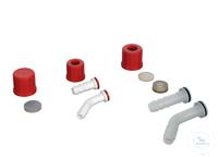 Schraubverbindungskappe, GL 18, mit Olive/PP, Ø 10,8 mm, gerade Schraubverbindungskappe, GL 18,...