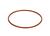 Flanschdichtung/Silikon, DN 150 FEP ummantelt Flanschdichtung Silikon - FEP ummantelt für DN 150