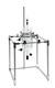 Tischgestell für Reaktionsgefäße bis 6 Liter, mit Flanschhalterung  NW 150, Edelstahl...