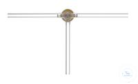Dreiweghahn/T-Bohrung, massives Glasküken NS 18,8/4,0 mm Bohrung Dreiweghahn mit T-Bohrung,...