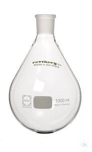 12artículos como: Rotary evaporator flask, 1000 ml, socket NS 29/32, pear-shaped, centered...