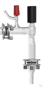 Vakuum-Absperrventil 0-15 mm, 2x KF DN 25 Vakuum-Absperrventil 0-15 mm, abnehmbar, KF DN 25 zum...