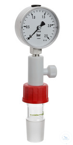 Pressure gauge stainless steel (compl.) thread GL 32 to cone size 29/32 Pressure gauge, stainless...