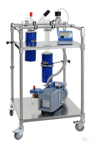 Vacuum pump stand without electric vacuum components Vacuum pump stand without electric vacuum...