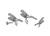 Gabelklemme/CrNi, für Kegelschliff NS 45, ohne Arretierungsschraube Gabelklemme für Kegelschliff...