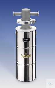 Edelstahlkühlfalle KF54V mit Dewargefäß aus Edelstahl Edelstahlkühlfalle...