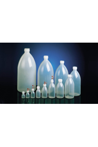 12Artículos como: Narrow neck bottle, LDPE natural, 5000 ml, round, with screw closure Narrow...