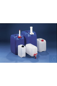3Articles like: Industrial jerrycans, HDPE, natural, 8 l, UN, w/o closure, cap size o.d. Ø 45...