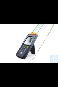 4-Kanal Temperatur-Datenlogger Typ 15210 Passend für Thermoelemente der...