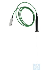 TYPE K Thermocouple to immerse Ø 1.5 x 250 mm, PHYSICS 0.1 °C, Class 2 THERMOCOUPLE TO IMMERSE...