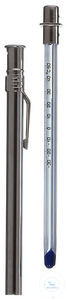 4Artikelen als: Pocket thermometers -38+50°C in 1°C, blue Pocket thermometers, stem form,...