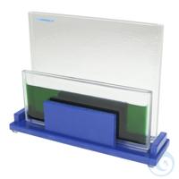 Tauchkammer Glaseinsatz,  für 100 x 100 mm Platten hochresistentes Glas,...