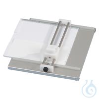 TLC-Plattenschneidegerät für Platten bis 200 x 200 mm - zum Ritzen und...