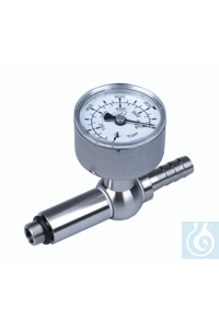 Supplementary module analog gauge with one analog gauge, for chemistry vacuum...