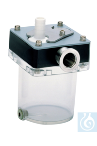 Separator inlet side DN 25, MZ 8 - ME 16C Separator inlet side AK PC 8 ---...