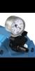 Chemie-Vakuumfeinregulierkopf, manuell, analoge Druckanzeige, mit...