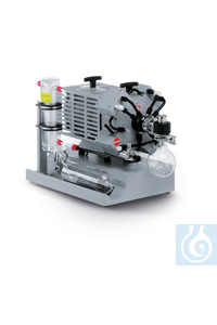 Chemistry vacuum system MD 4C EX + AK + EK three stage, protective switch,...