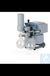 Chemie-Vakuumsystem MZ 2C NT +AK SYNCHRO+EK, 230 V / 50-60 Hz, CEE Netzkabel...