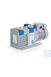 Rotary vane pump RE 9, one stage 230 V / 50-60 Hz, CEE mains cable Rotary...