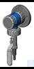 VACUU·LAN® Absperrmodul VCL K mit Anschlusselement A5, M35 x 1,5, bestehend...