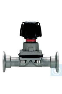 Diaphragm in-line valve VM 16 Diaphragm valve VM 16 --- --- Weight, approx....