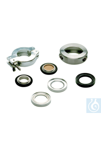 Sealing and centring ring, aluminium, KF DN 10/16 Sealing and centring ring,...