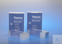 Mircroscope Slides, Menzel, cut Thermo Scientific™ slides are made of...