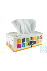 neoTissue Zellstoffwischtücher, 2-lagig, 200 Stk/Pack  neoTissue cellulose wipes, 2-ply, 200...