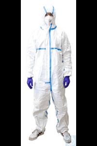 neoLab Schutzanzug gegen Infektionserreger, gemäß EN14126, Gr. M | 2-0721