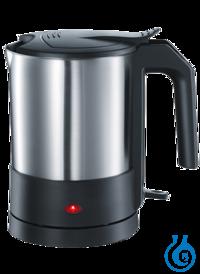neoLab® Wasserkocher Edelstahlgehäuse, 1,5 l, 1800 W Kochendes Wasser innerhalb kürzester Zeit....