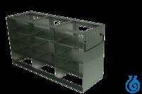 neoLab® Schrankgestell f. 50erBox, 3x4 Fächer, 142 x 426 x 224 mm Für alle Boxen mit den...