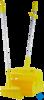 neoLab® Kehrschaufelset geschlossen mit Besen, 370 mm, (gelb) Das Kehrschaufelset mit Besen (370...
