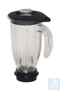 neoLab® 2 Liter Mixaufsatz Ploycarbonat  Mixaufsätze für Rotor-Hochleistungs-Labormixer,...