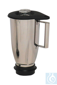 neoLab® 2 liter stainless steel mixing attachment, complete, for laboratory...