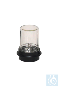 neoLab® 250 ml-Labor-Mixaufsatz, komplett mit Glasbecher, oben geschlossen Mixaufsätze für...