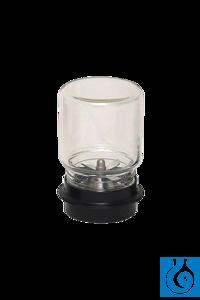 neoLab® 500 ml-Labor-Mixaufsatz, komplett mit Glasbecher, oben geschlossen Mixaufsätze für...